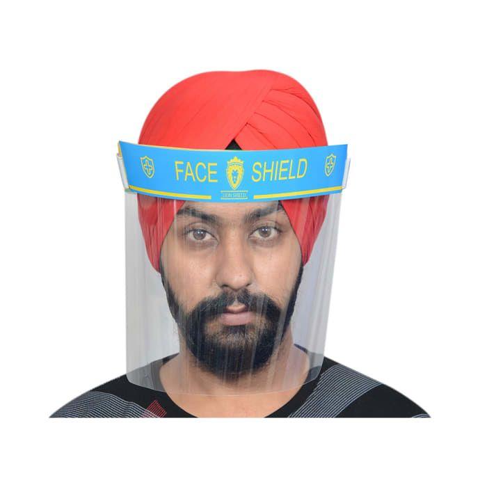 Lion Shield Blue 300 micron Face Shield