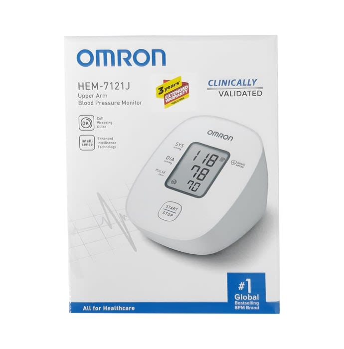 Omron Hem-7121 J BP Monitor