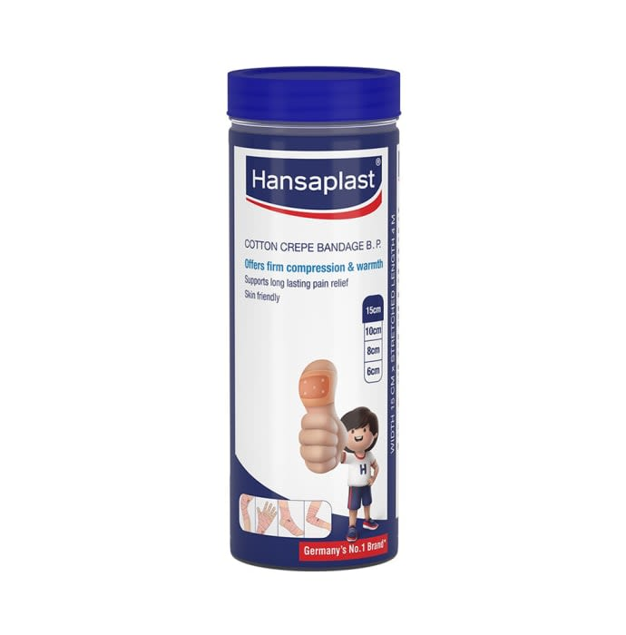 Hansaplast Cotton Crepe Bandage B.P. 15cm x 4m