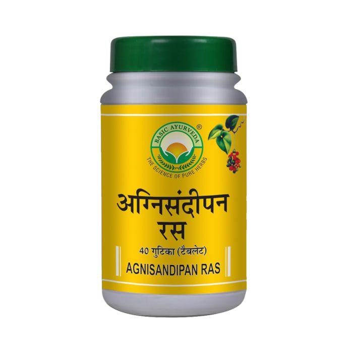 Basic Ayurveda Agnisandipan Ras Tablet