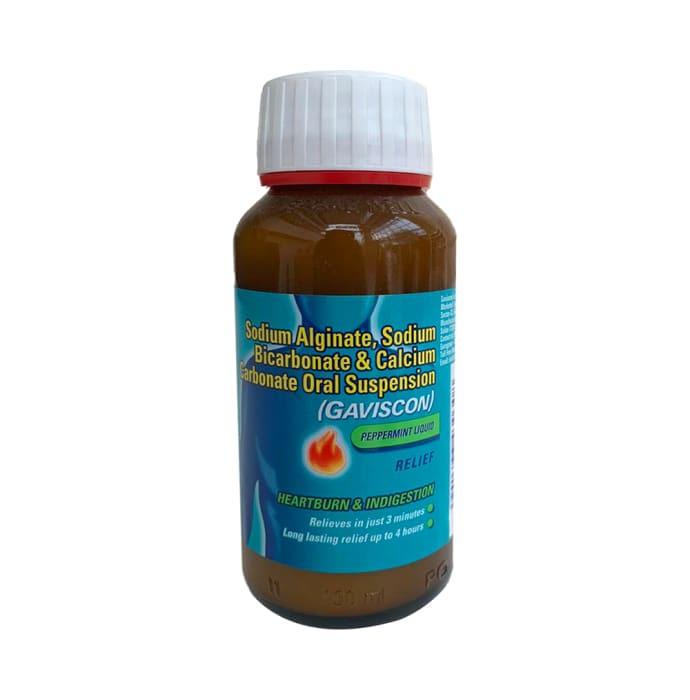 Gaviscon Anti-Reflux Antacid Oral Suspension Peppermint