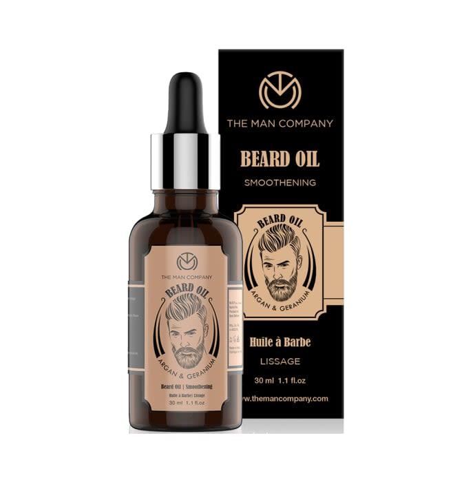The Man Company Argan & Geranium Beard Oil