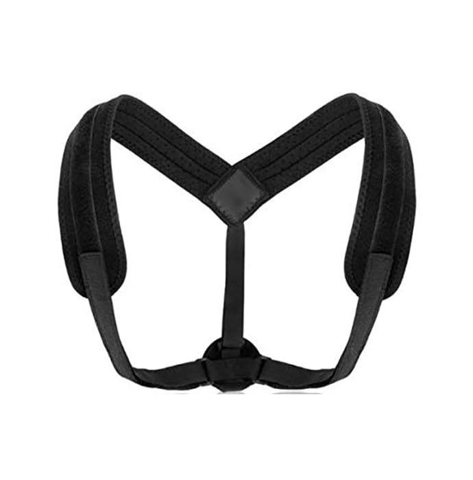 Sira Posture Correction Shoulder Back Support Belt Black