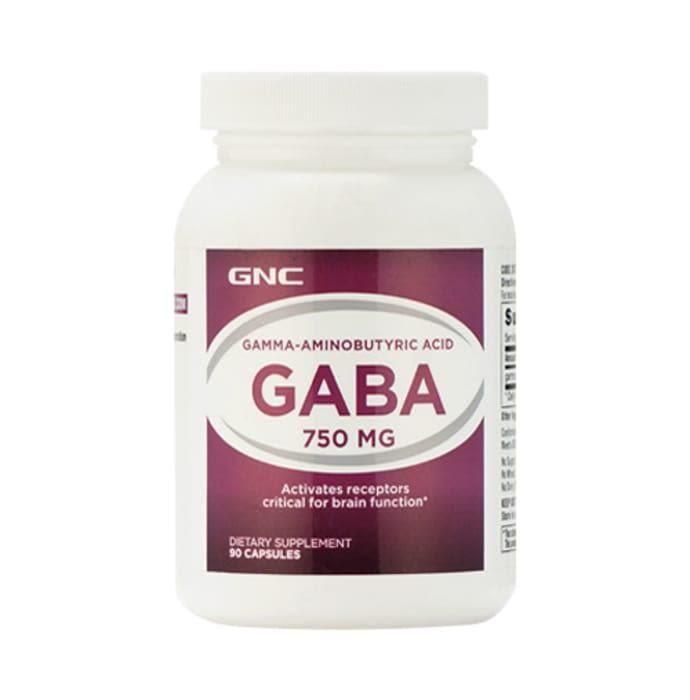 GNC GABA 750mg Capsule