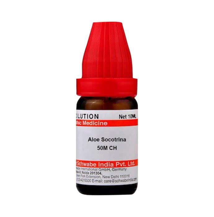 Dr Willmar Schwabe India Aloe Socotrina Dilution 50M CH