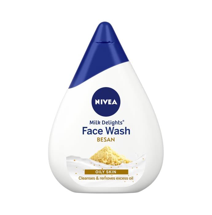 Nivea Milk Delights Besan Oily Skin Face Wash