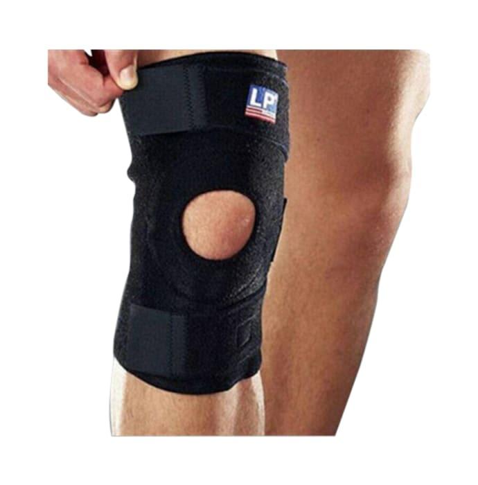 LP 758 Neoprene Knee Support Open Patella Universal Black