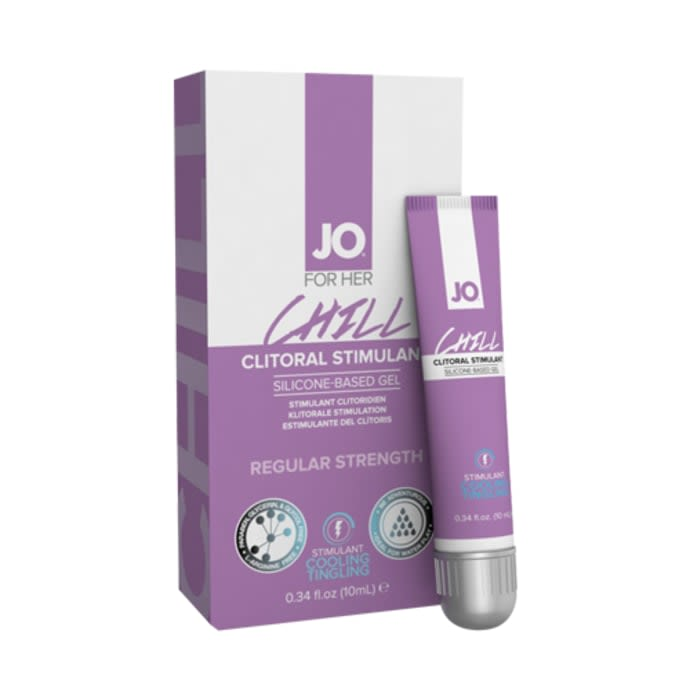 JO For Her Chill Clitoral Stimulating Silicon-Based Gel