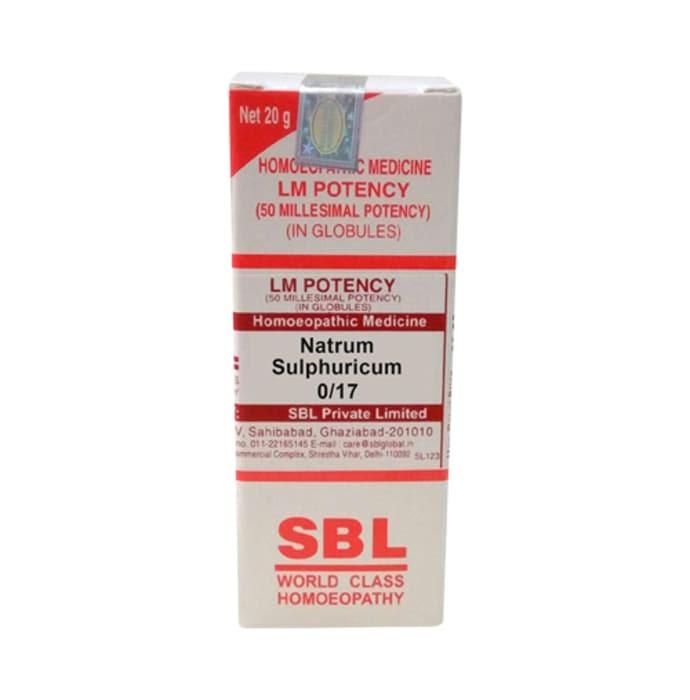 SBL Natrum Sulphuricum 0/17 LM