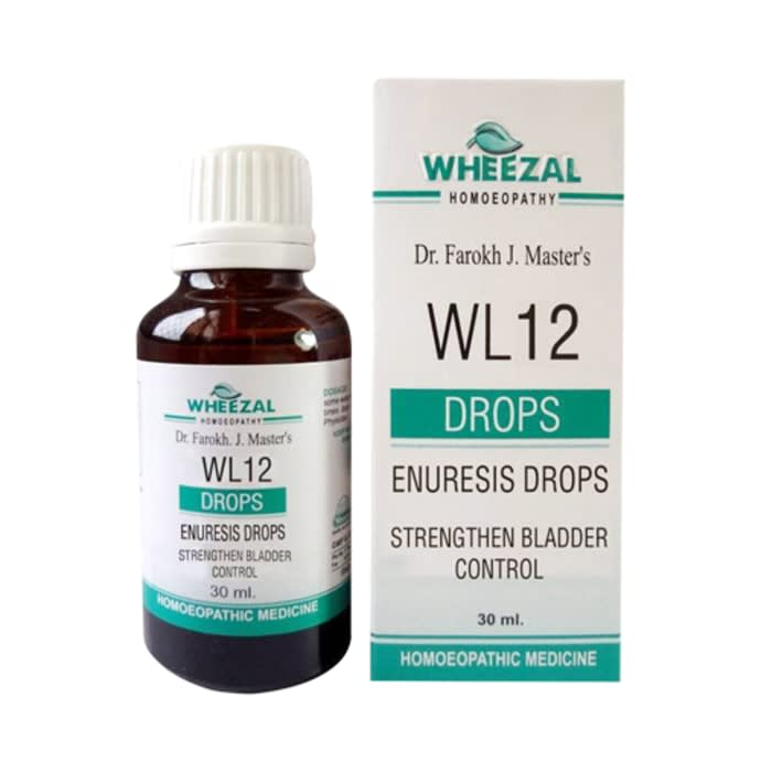 Wheezal WL12 Enuresis Drop