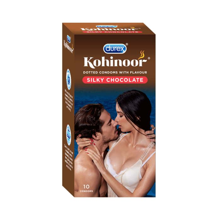 Durex Kohinoor Silky Chocolate Condom