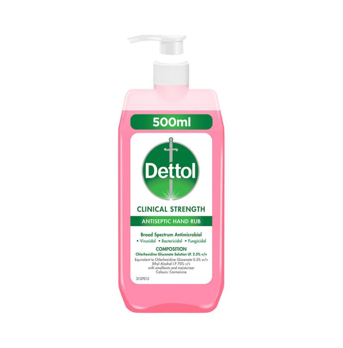 Dettol Clinical Strength Antiseptic Hand Rub Sanitizer