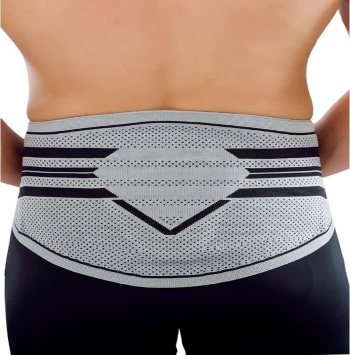Dyna 3D Knitted Lumbar Brace with Silicone Pad Large