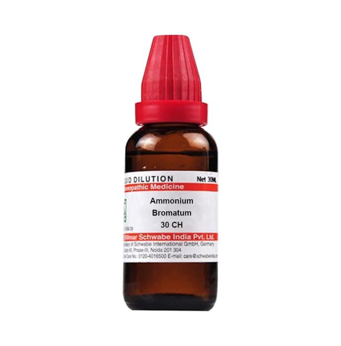 Dr Willmar Schwabe India Ammonium Bromatum Dilution 30 CH