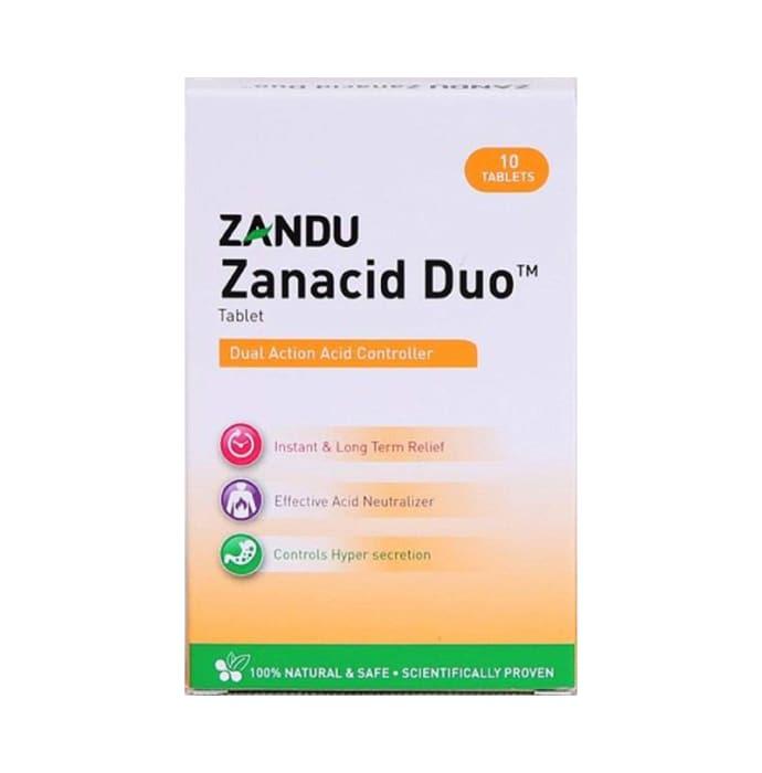 Zandu Zanacid Duo Tablet