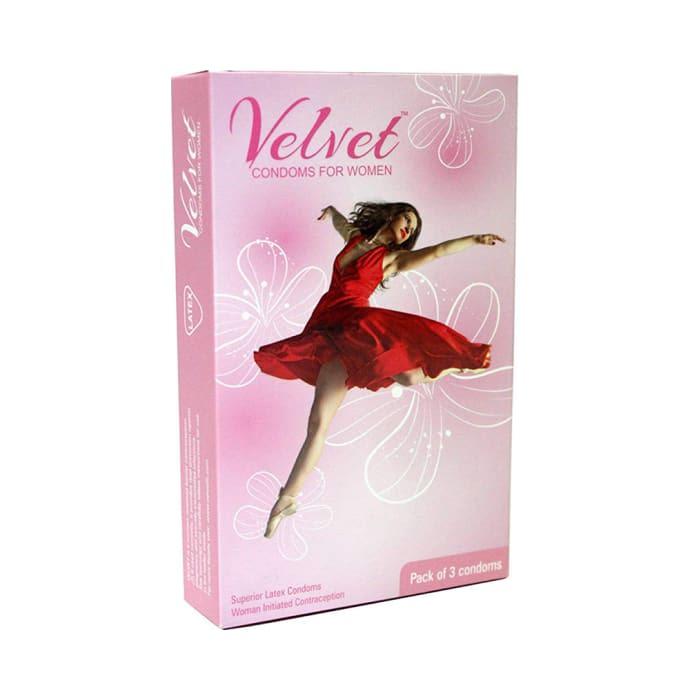 MOODS Velvet Women Condom