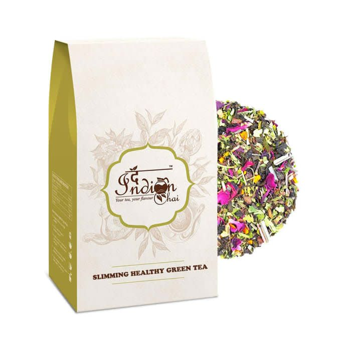 The Indian Chai Slimming Healthy Green Tea