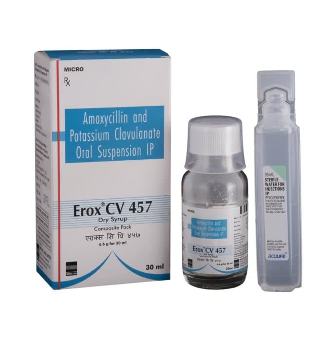 Erox CV 457 Dry Syrup