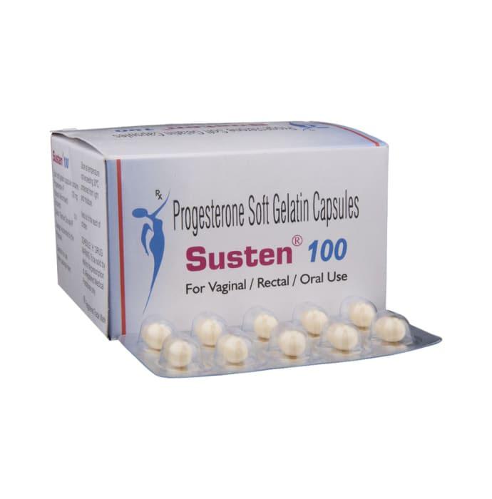 Susten 100 Soft Gelatin Capsule