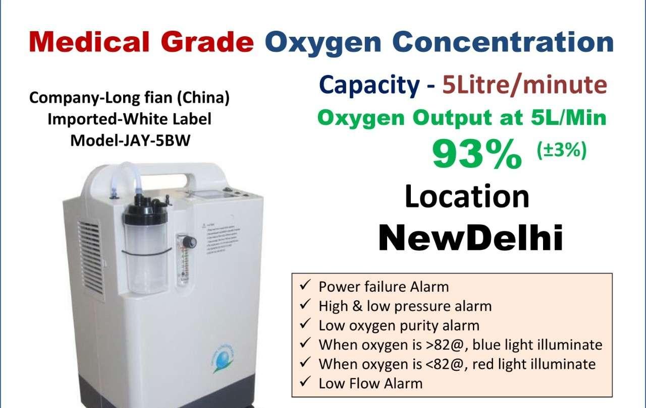 Dr.Oxygen Medical Grade Oxygen Concentrator-5Liter