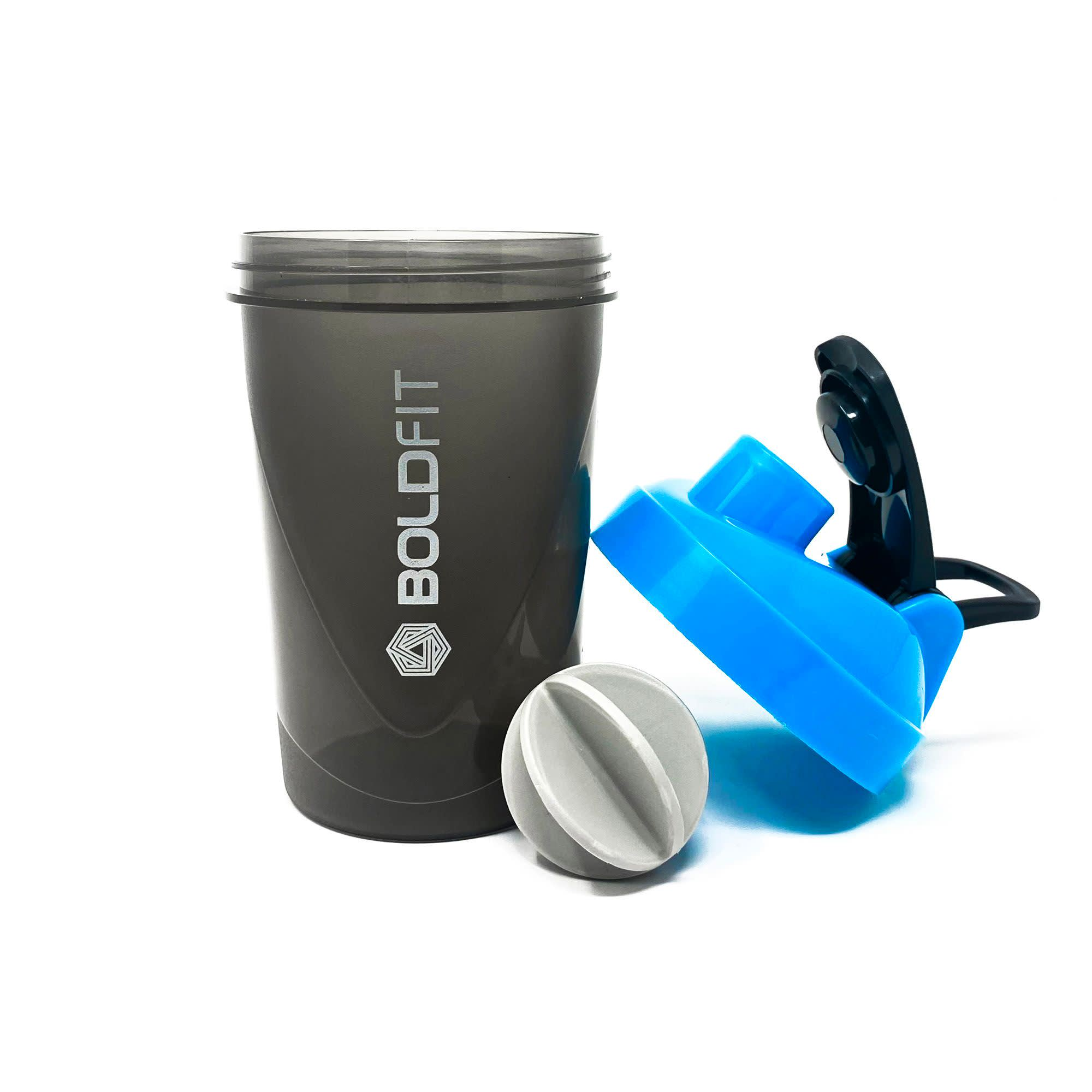 Boldfit Compact Gym Shaker Bottle 500ml, Shaker Bottles For Protein Shake 100% Leakproof Guarantee Protein Shaker/sipper Bottle, Ideal For Protein, Pre Workout And Bcaas & Water Bpa Free Material