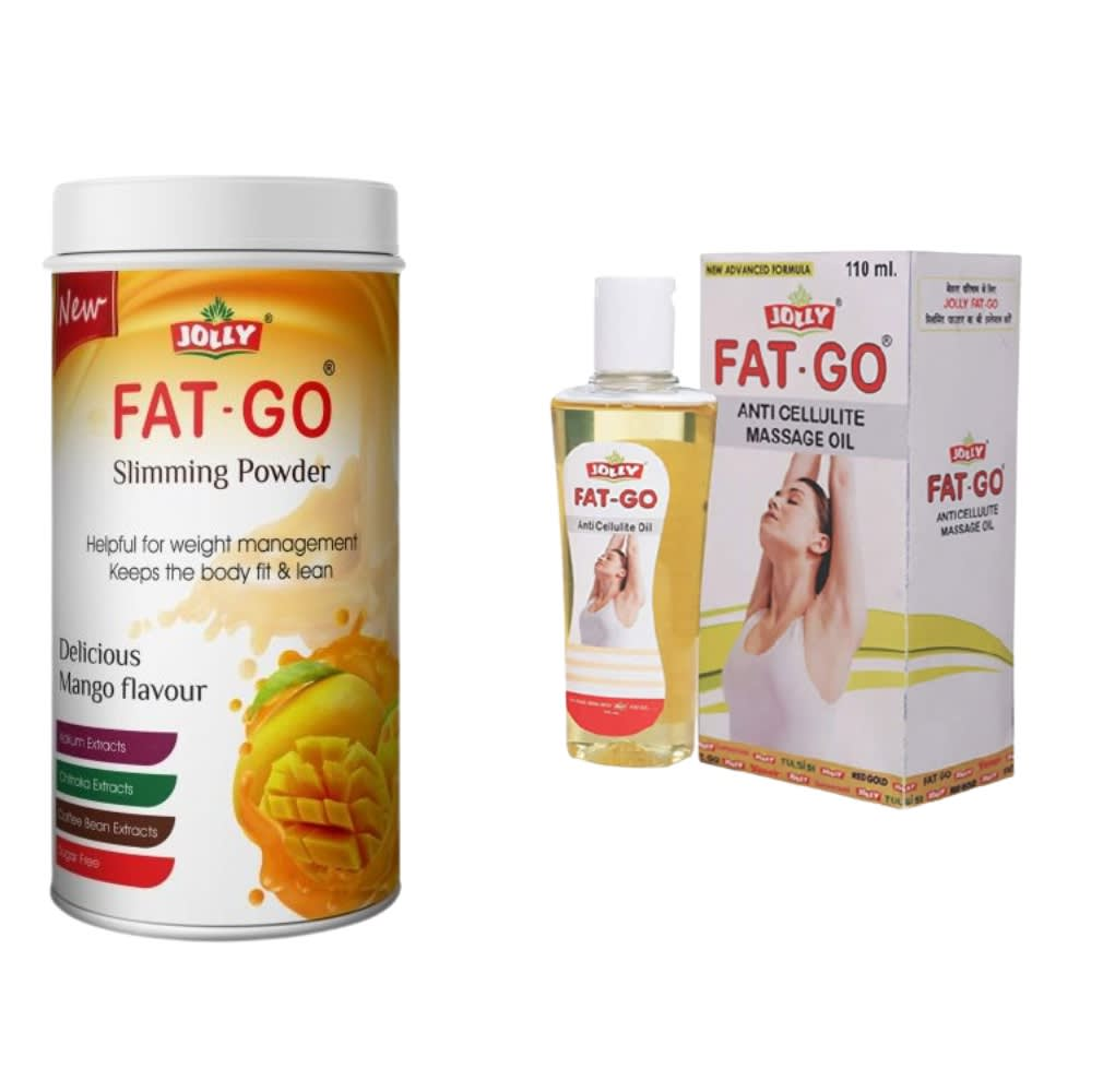 Jolly Fat Go Slimming Powder And Oil