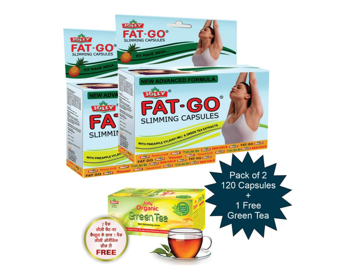Jolly Fat Go Anti Cellulite Massage Oil (Pack of 2)