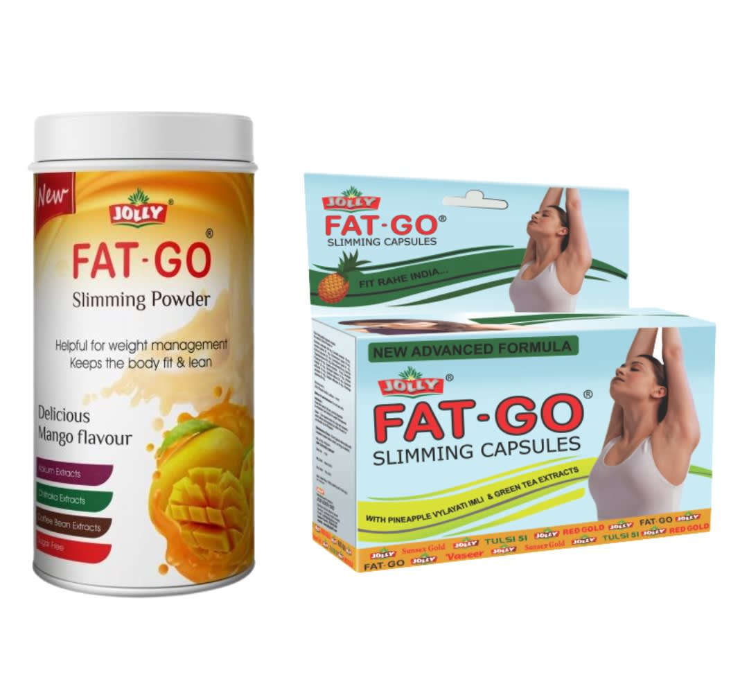 Jolly Fat Go Slimming Powder And Capsules