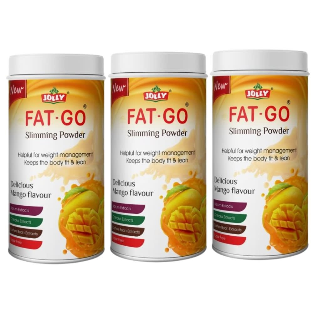Jolly Fat Go Slimming Powder (Pack of 3)