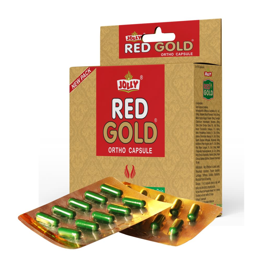 Jolly Red Gold Ortho Capsules - Pack of 1