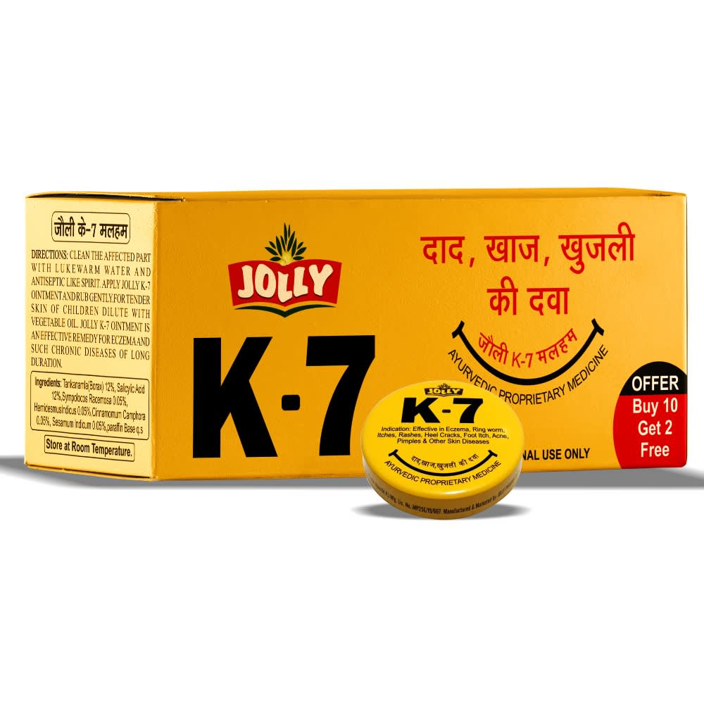Jolly K-7 Ointment - pack of 12