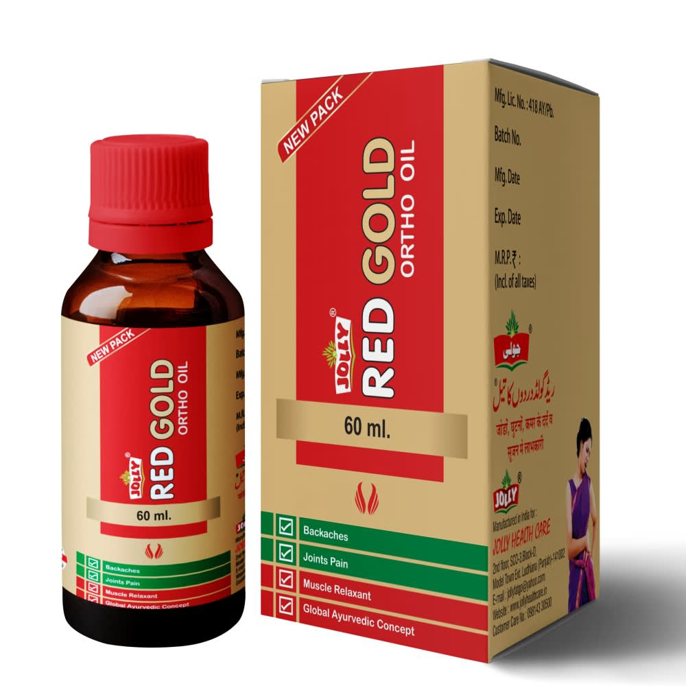 Jolly Red Gold Ortho Oil - Pack of 1