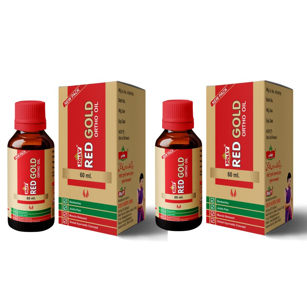 Jolly Red Gold Ortho Oil - Pack of 2