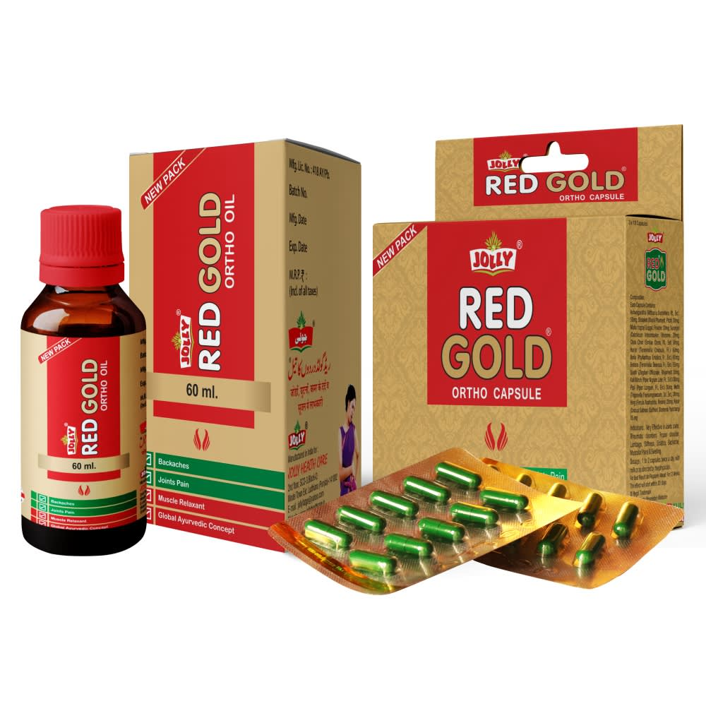 Jolly Red Gold Ortho Capsules and Oil