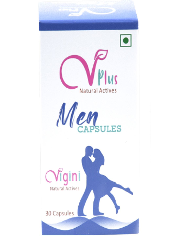 Vigini 100% Natural Actives Penis Enlarge Sexual Arousal Performance Power Energy Stamina Aphrodisiac Capsules Effective Libido Testosterone Vigour Vitality