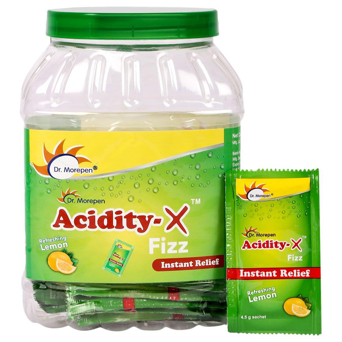 Dr. Morepen Acidity-X Fizz - 50 Sachets