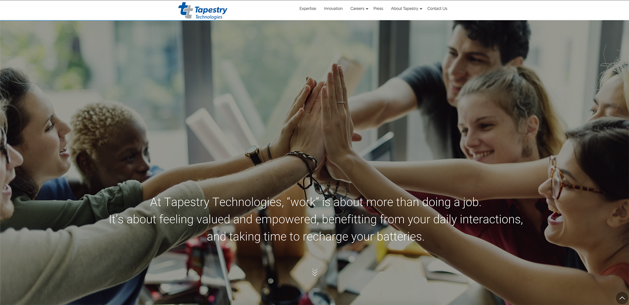 Tapestry Technologies, Inc. Website Launched
