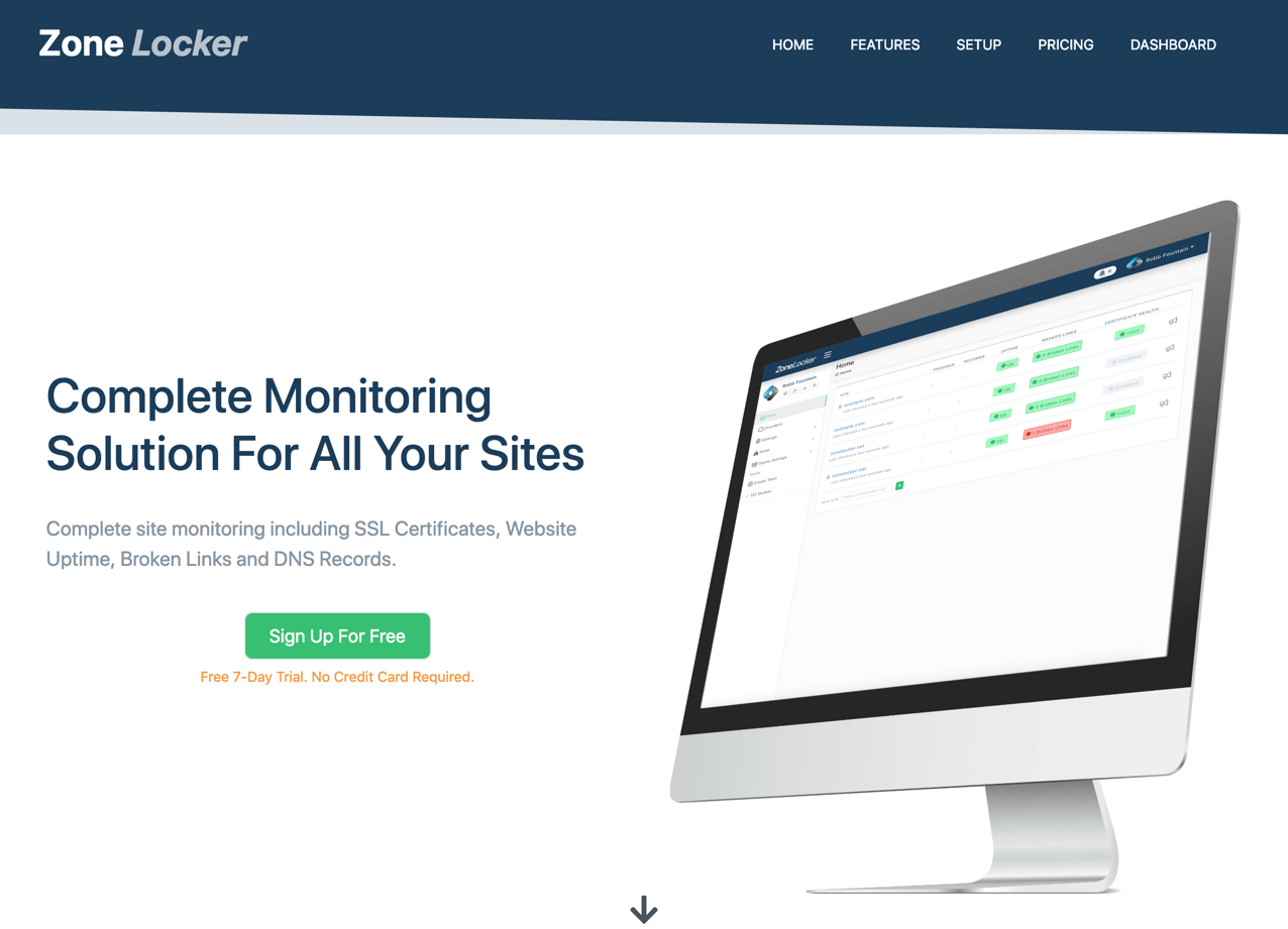ZoneLocker Website Monitoring Suite Released