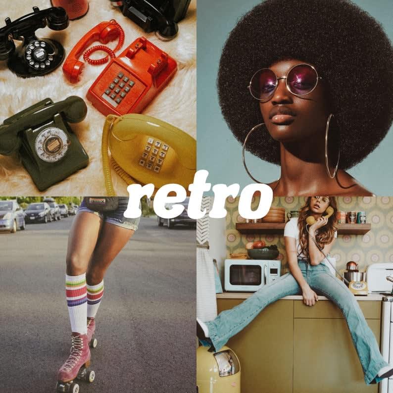 Presets Lightroom, 5 Mobile & Desktop Presets, Retro Presets, Vintage Travel Presets, Film Cinematic Presets, Instagram Warm Outdoor Presets