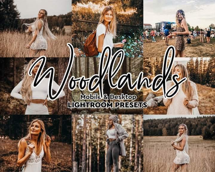 Woodlands Lightroom Presets