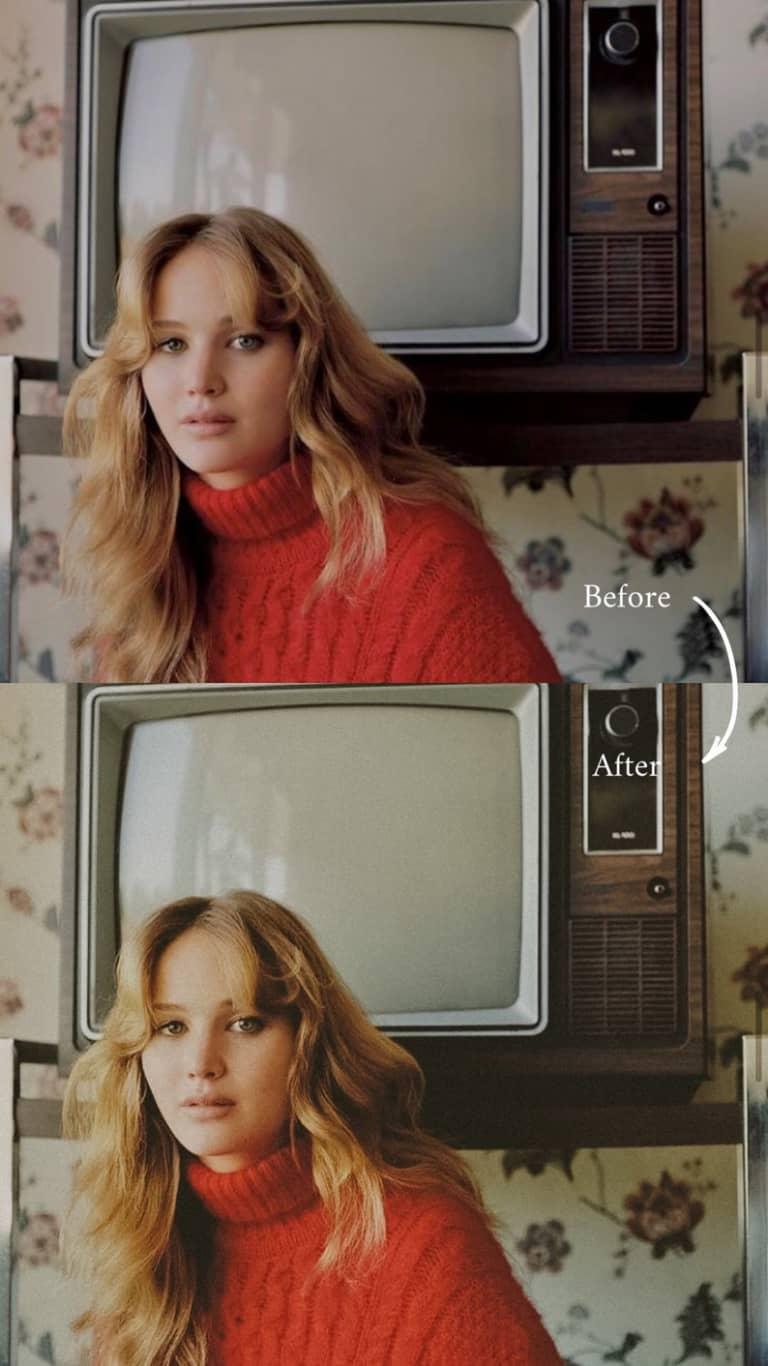 Film Lightroom Presets, 1 Mobile & Desktop Presets, Vintage Presets, Cinematic Presets, Moody Retro Presets, Influencer Preset, Boho Presets