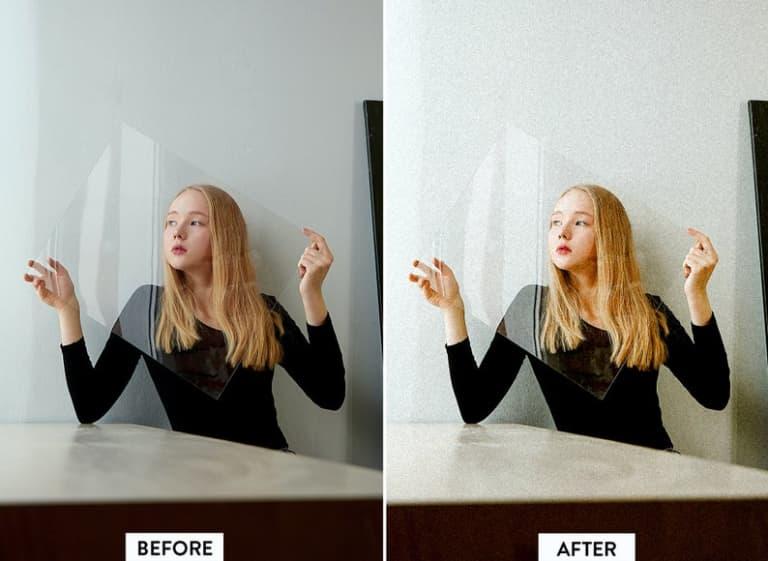 10 ANALOG FILM Lightroom Mobile and Desktop Presets Premium   Film look Retro Vintage analogue.