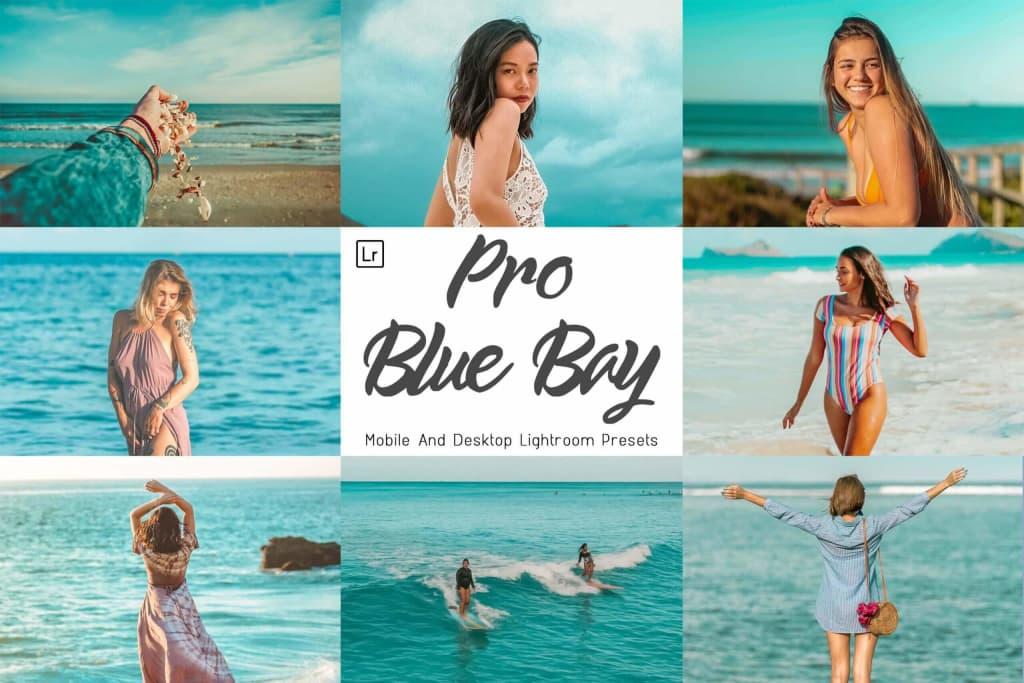 lightroom poster 3 motional pro blue bay color correction