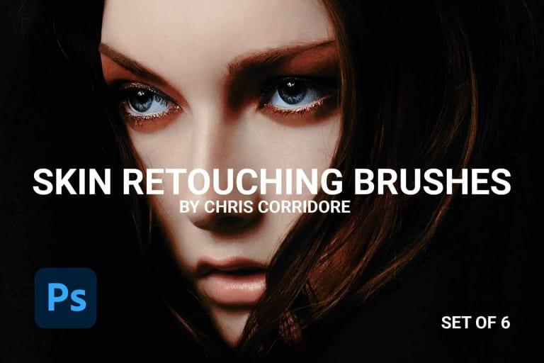 Skin Retouching Brushes (Set of 6)