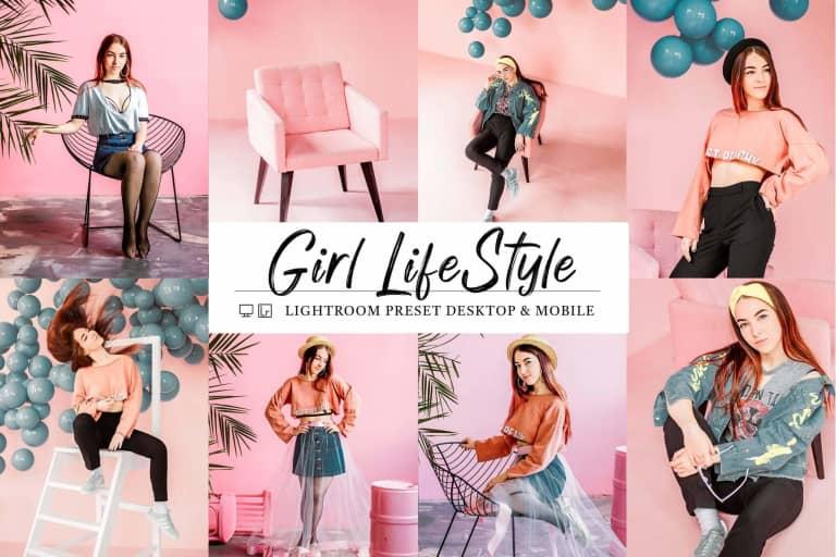 10 Mobile & Lightroom Girl Lifestyle