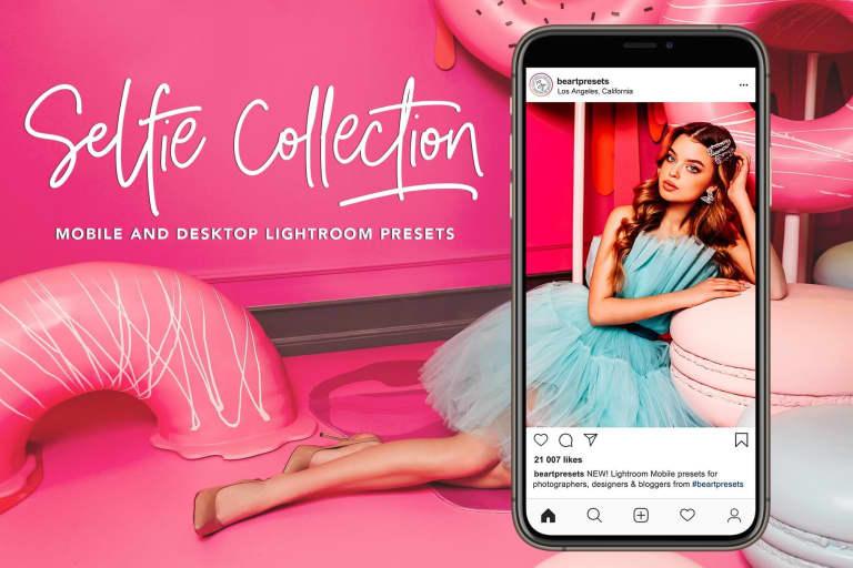 Selfie Mobile Presets Lightroom