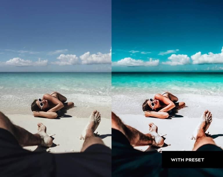 Summer Beach Presets For Mobile and Desktop Lightroom