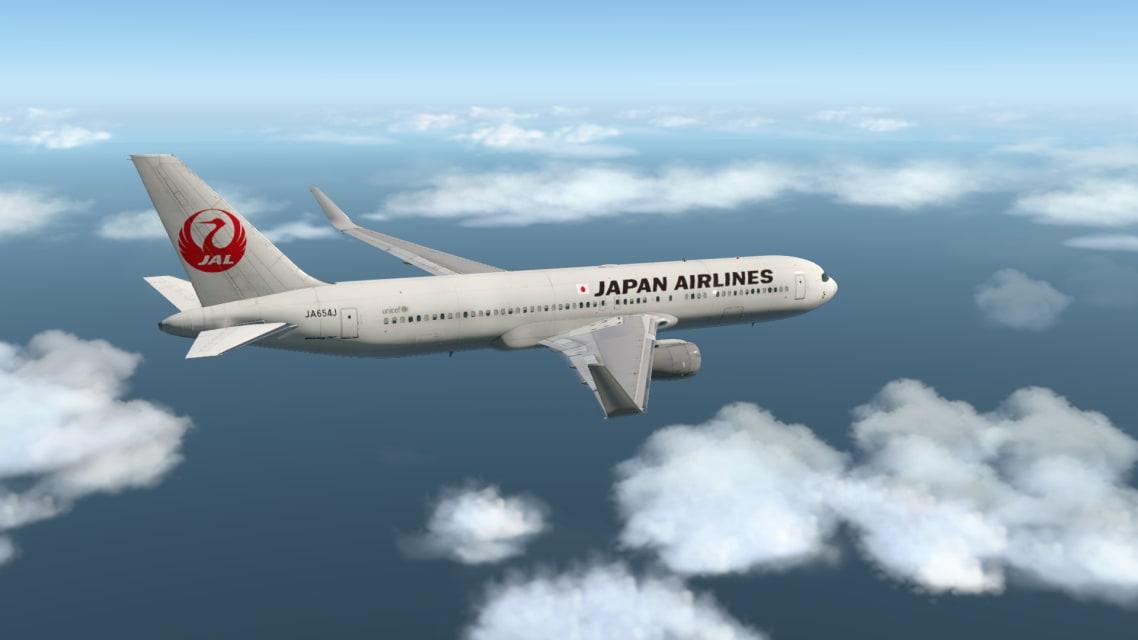 JAL B763