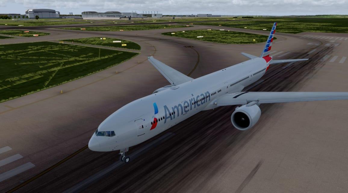AA B77W