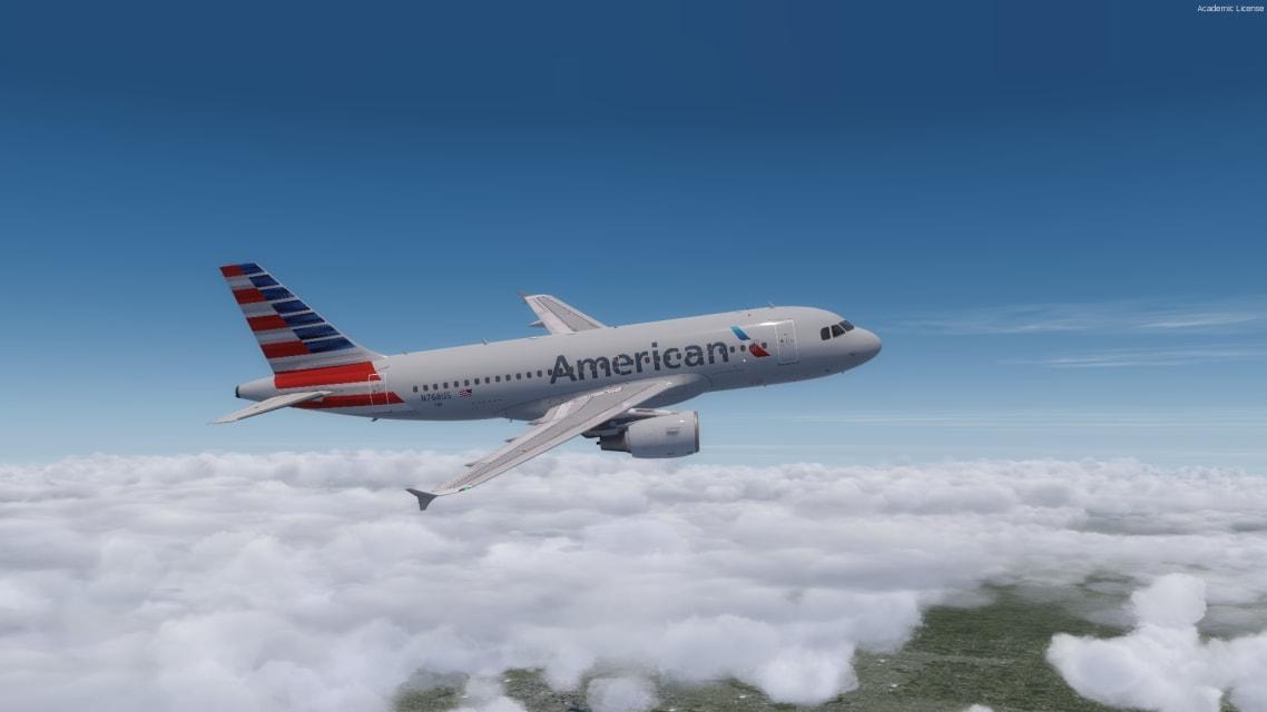USA A320 Cover